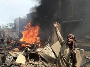 В марте произошло нападение на колонию Иосифа – христианский район г. Лахор