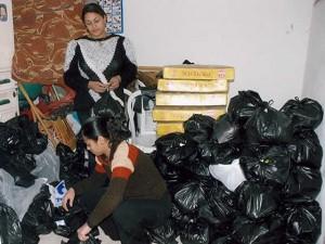 Продуктовые пакеты для христиан Египта от Фонда Варнава