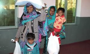 Христиане Пакистана получают помощь от Фонда Варнава