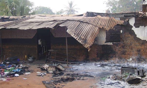 Боевики Селека разграбили и разрушили множество домов