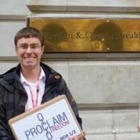 Подача петиции Провозгласи Свободу в Великобритании