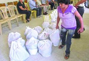 Свыше 35,000 христиан в Сирии ежемесячно получают продуктовую и другую помощь от Фонда Варнава