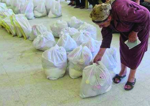 Христиане Ирака получают продовольственную помощь