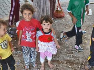 Дети христианских переселенцев из Ирака в Дохуке