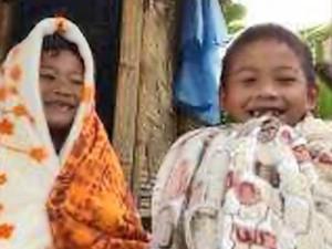 Эти уютные теплые одеяла помогают деткам согреваться зимой.