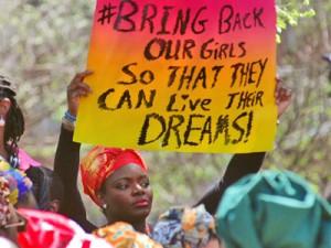 Похищение школьниц в Нигерии вызвало бурную реакцию. мировой общественности