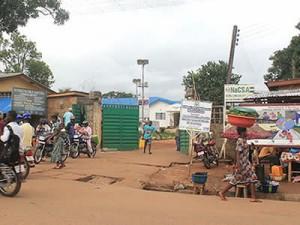Кенема - один из пораженных вирусом округов Сьерра-Леоне, где Фонд Варнава оказывает помощь