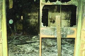 Пасторский дом в Нигере, разрушенный в антихристианских нападениях