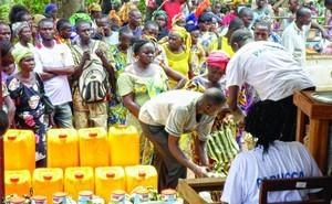 Гуманитарная помощь от Фонда Варнава христианам ЦАР, пострадавшим от насилия