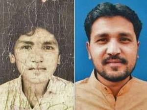 Афтаб Бахадур Масих в 1992 году и недавно