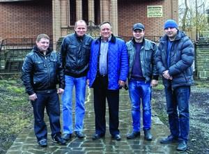 Пасторы в восточной Украине