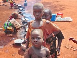 60% беженцев в лагере младше 18 лет