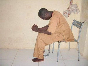 Христианин в суданской тюрьме