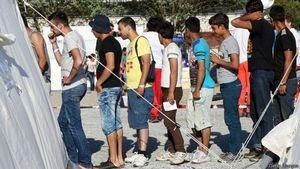 Палаточный лагерь для мигрантов в Дрездене. Многие эритрейцы бегут из страны в Европу