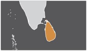 География гонений - Шри-Ланка