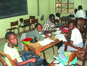 Школа в Кении