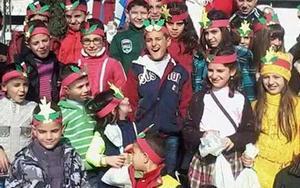 Дети на Ближнем Востоке празднуют Рождество