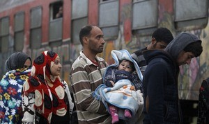 беженцы300