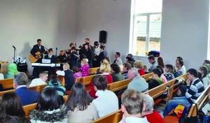 Христиане на богослужении в Белоруссии