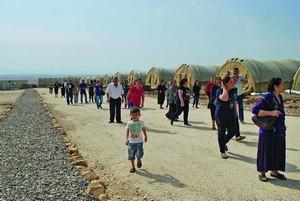 """Официальное открытие палаточного лагеря """"Савра"""" (надежда) в Иракском Курдистане"""