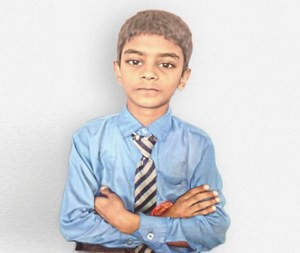 Сагар очень счастлив посещать школу, это стало возможным благодаря сторонникам Фонда Варнава
