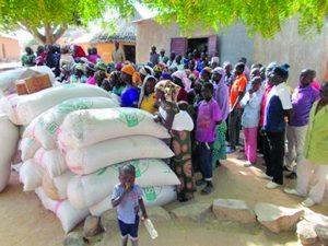 Помощь Фонда Варнава жертвам насилия в Камеруне