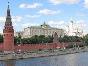 Московский Кремль, резиденция власти российских правителей на протяжении многих столетий