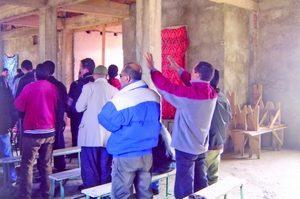 Богослужение алжирских христиан