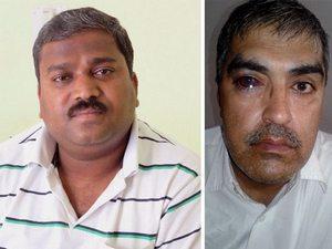 Виджай Пол (слева) и пастор Бхарат Кумар Вадхвани (справа).