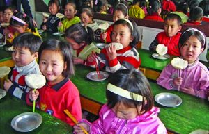 Фонд Варнава поддерживает христианские пекарни в Северной Корее, которые обеспечивают бесплатным хлебом детей