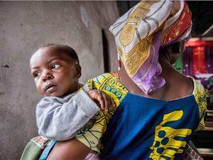 Женщина из Конго, оказавшаяся жертвой насилия. Сейчас она участвует в программе христианского наставничества, которую поддерживает Фонда Варнава