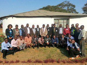 Пасторы церквей на обучающем курсе в Мозамбике, прошедшем при поддержке Фонда Варнава