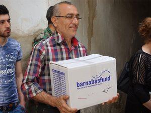 Продовольственная помощь Фонда Варнава в Сирии