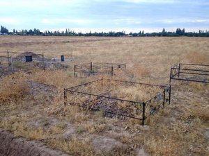 Un cimitir creștin din Kyrgyzstan, la a cărui cumpărare a contribuit și Fondul Barnabas